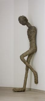 2013 rope and steel 50 x 180 x 60 cm