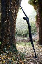 2007, patinated bronze, 100 x 350 x 140, ed 6+1